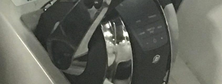Digitaal bedieningshendel geplaatst tijdens het vervanging van de motor